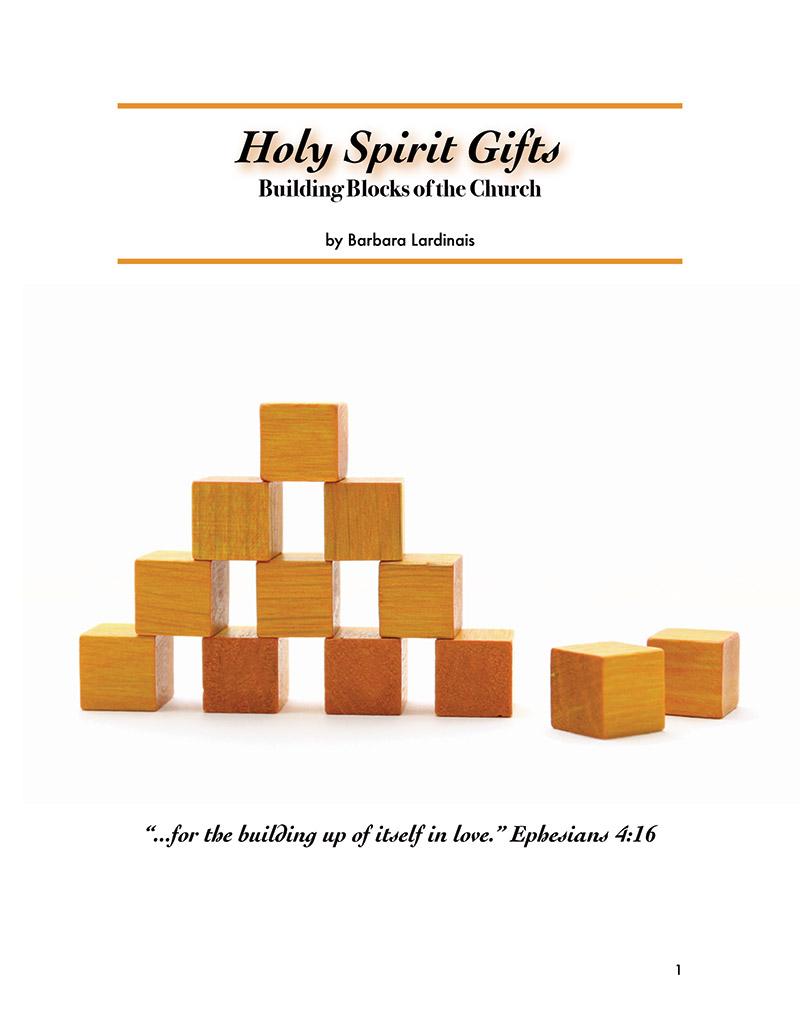 Workbooks spiritual gifts workbook : Holy Spirit Gifts (e-book) - Hannah's Cupboard